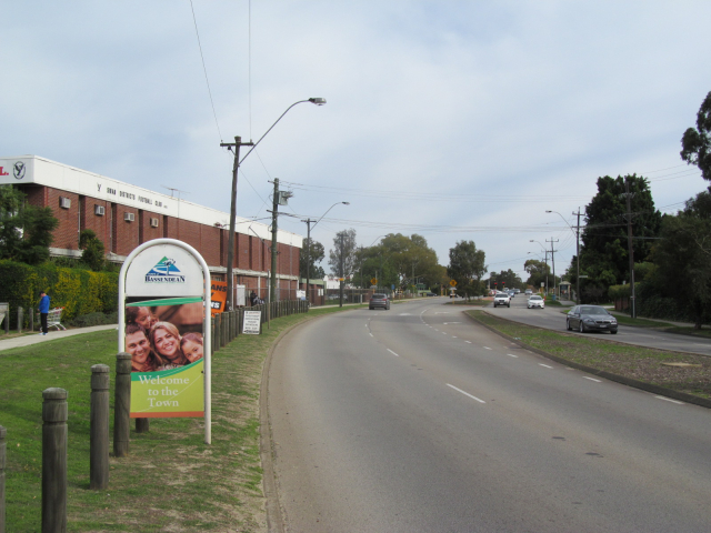 Bassendean Welcome Sign