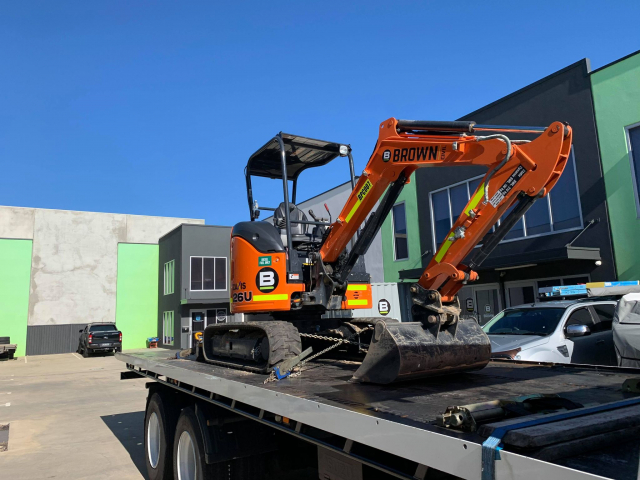 Excavator Transport Perth